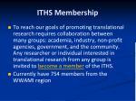 iths membership