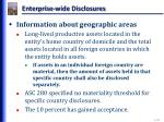 enterprise wide disclosures3