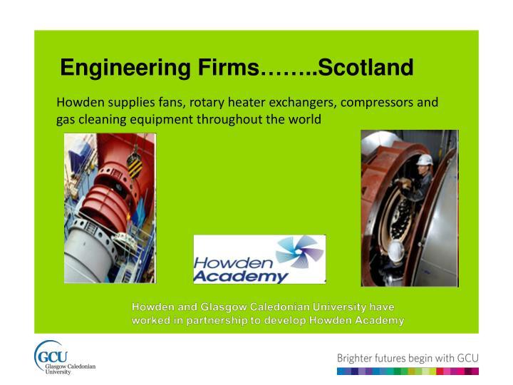 Engineering Firms……..Scotland