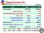 federal income tax1