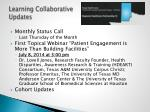 learning collaborative updates