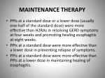 maintenance therapy2