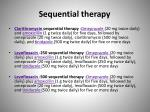 sequential therapy