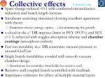 collective effects