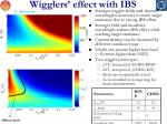 wigglers effect with ibs