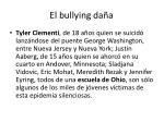 el bullying da a