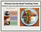 pictures can be good teaching tools