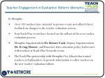 teacher engagement in evaluation reform memphis