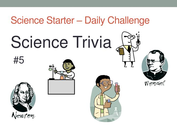 science starter daily challenge n.
