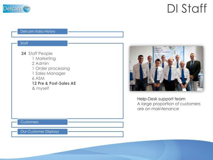 DI Staff