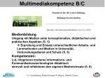multimediakompetenz b c1
