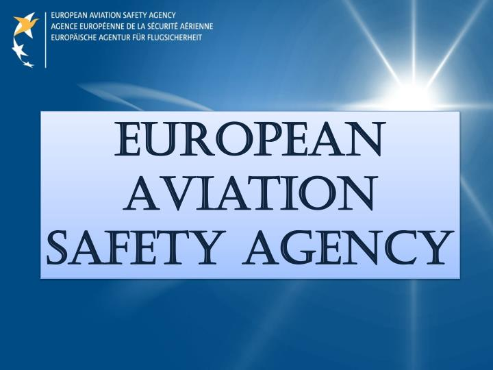 european aviation safety agency n.