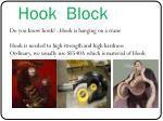 hook block