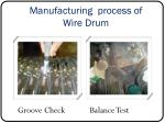 manufacturing process of wire drum3