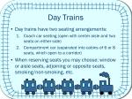 day trains