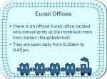 eurail offices