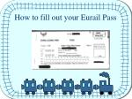 how to fill out your eurail pass