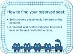 how to find your reserved seat1