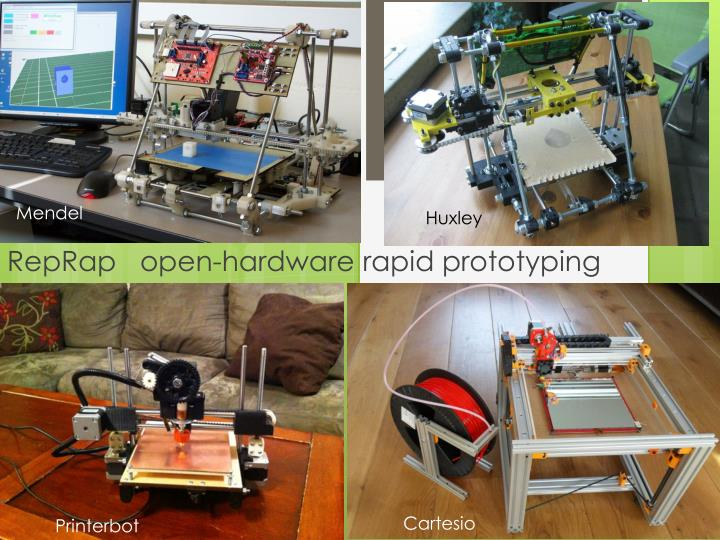 reprap open hardware rapid prototyping machine n.