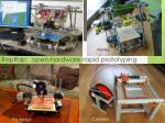 reprap open hardware rapid prototyping machine