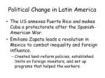political change in latin america