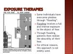exposure therapies1
