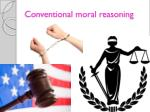 conventional moral reasoning1