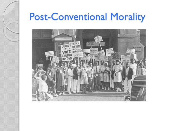 Post-Conventional Morality