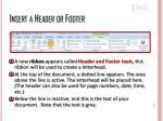 insert a header or footer1