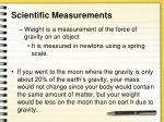 scientific measurements1