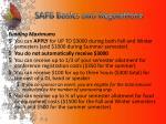 safb basics and regulations2