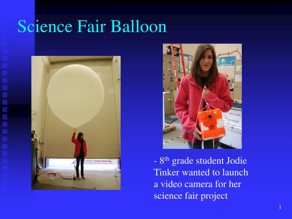PPT - Science Fair Balloon PowerPoint Presentation - ID:6507309