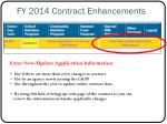 fy 2014 contract enhancements3