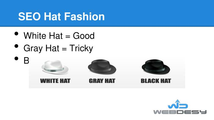 SEO Hat Fashion