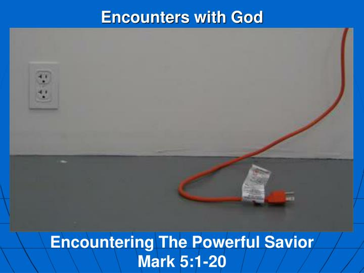 encounters with god n.
