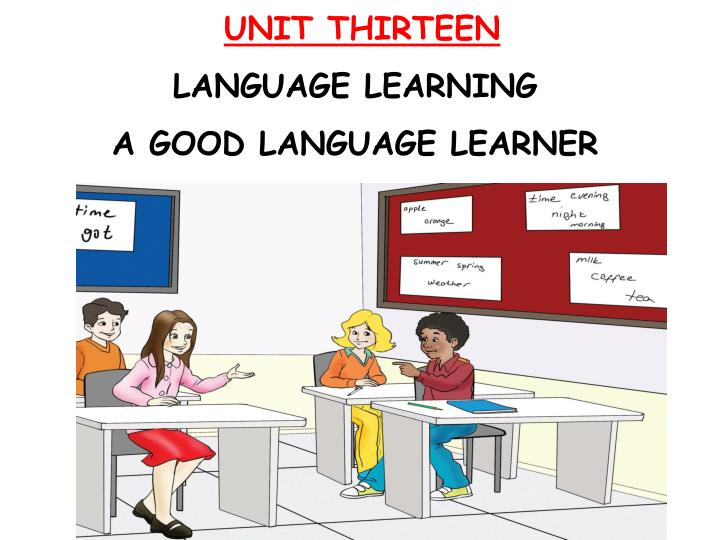 unit thirteen language learning a good language learner n.