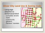 silver city land use zoning code