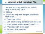 langkah untuk membuat film2