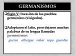 germanismos