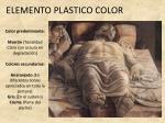 elemento plastico color