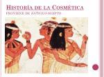 histor a de la cosm tica proviene de antiguo egipto