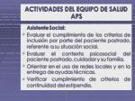 actividades del equipo de salud aps2
