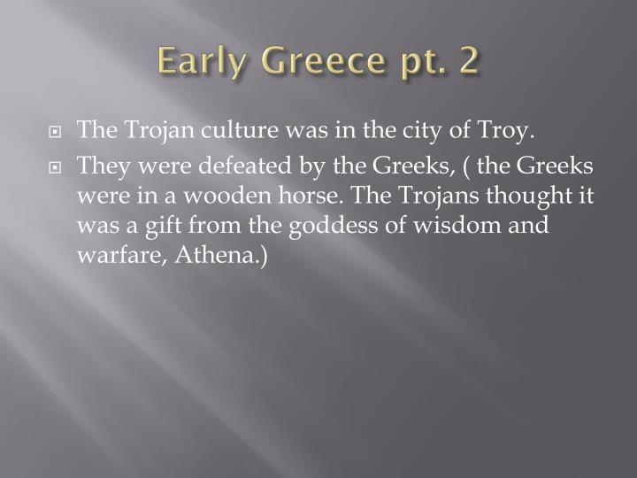 Early greece pt 2