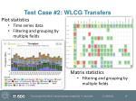 test case 2 wlcg transfers