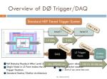 overview of d trigger daq