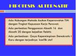 hipotesis alternatif