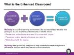 what is the enhanced classroom