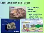 local long island soil issues