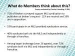 what do members think about this survey conducted by clareity consulting 5 2011
