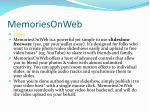 memoriesonweb